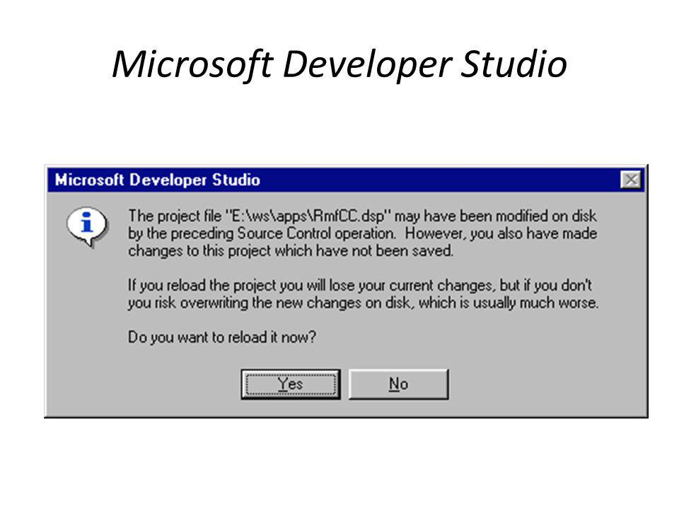 Microsoft Developer Studio