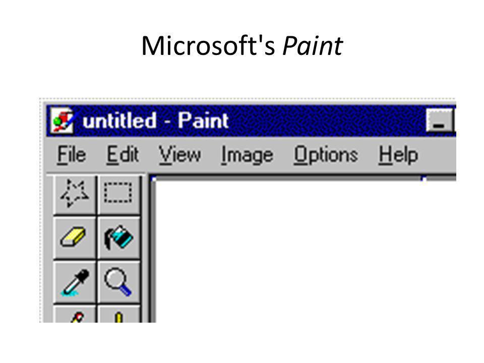 Microsoft s Paint