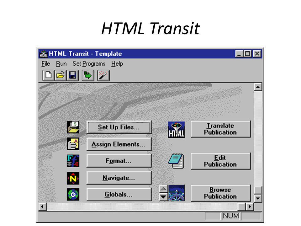 HTML Transit