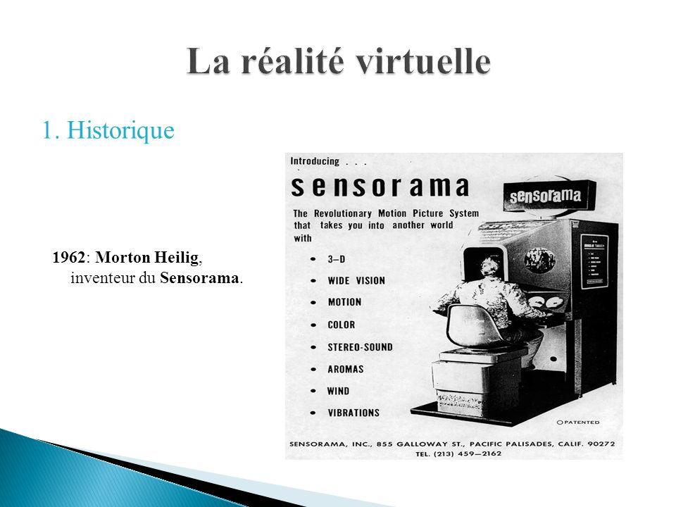 1962: Morton Heilig, inventeur du Sensorama. 1. Historique