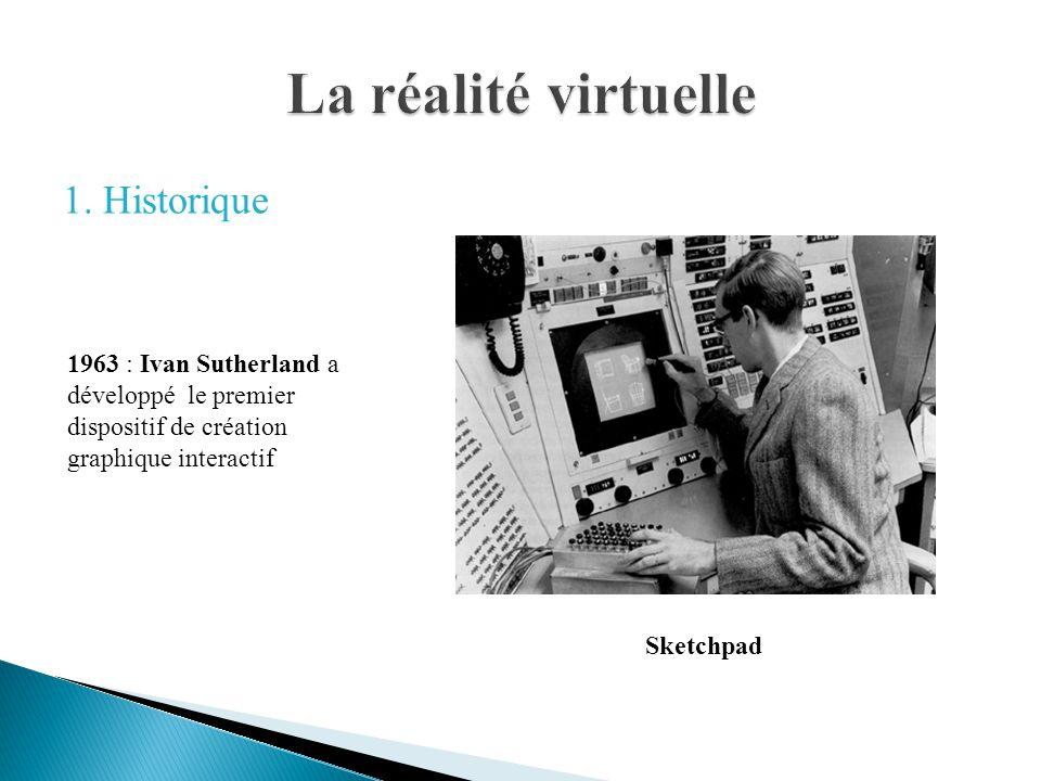 Sketchpad 1963 : Ivan Sutherland a développé le premier dispositif de création graphique interactif
