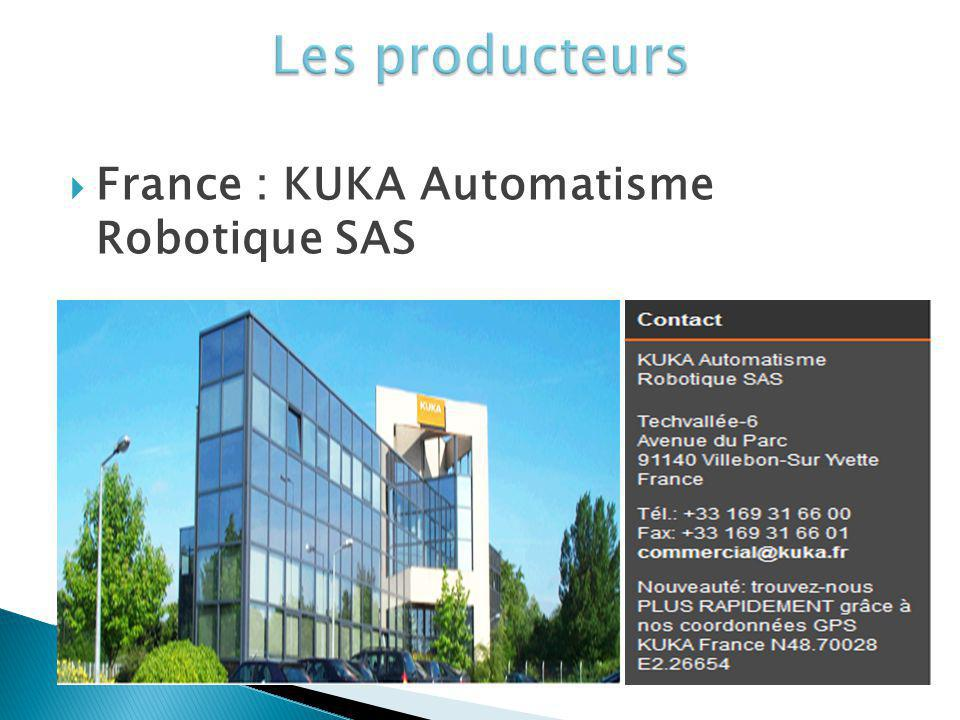 France : KUKA Automatisme Robotique SAS