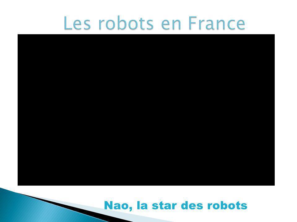 Nao, la star des robots