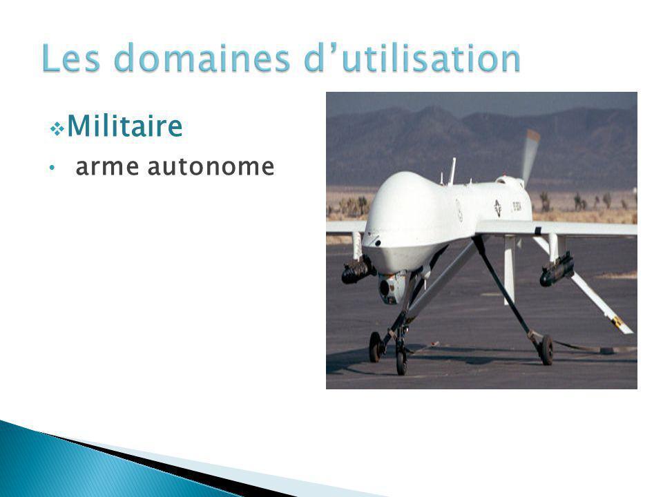 Militaire arme autonome