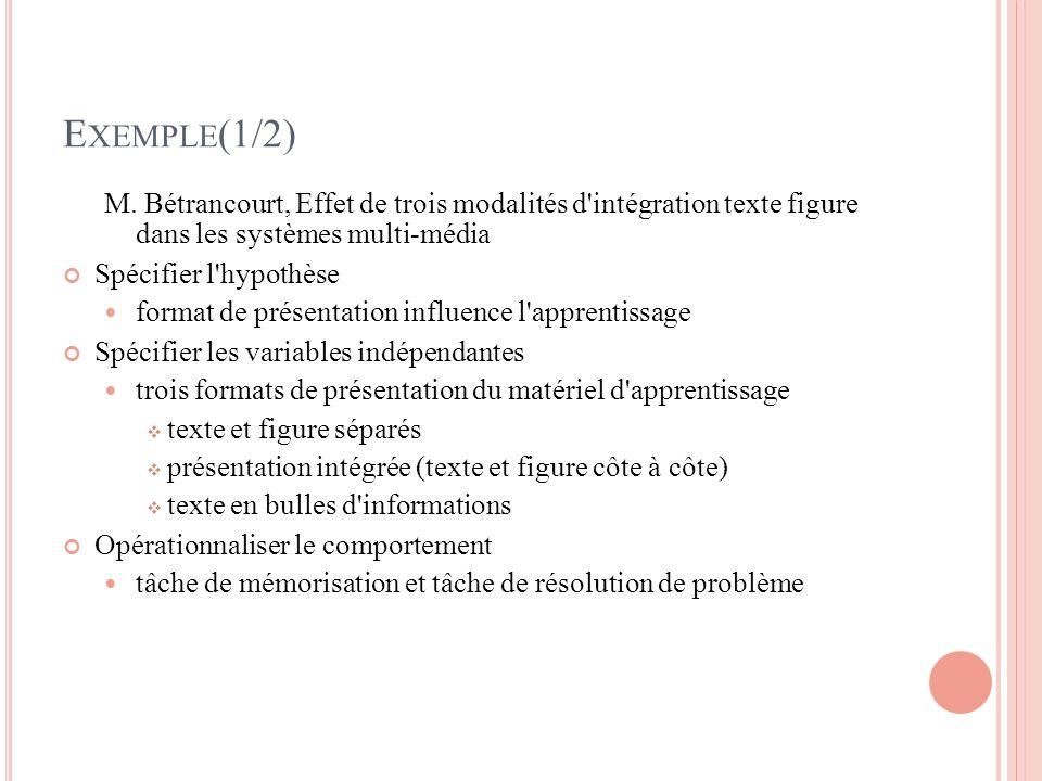 E XEMPLE (1/2) M.