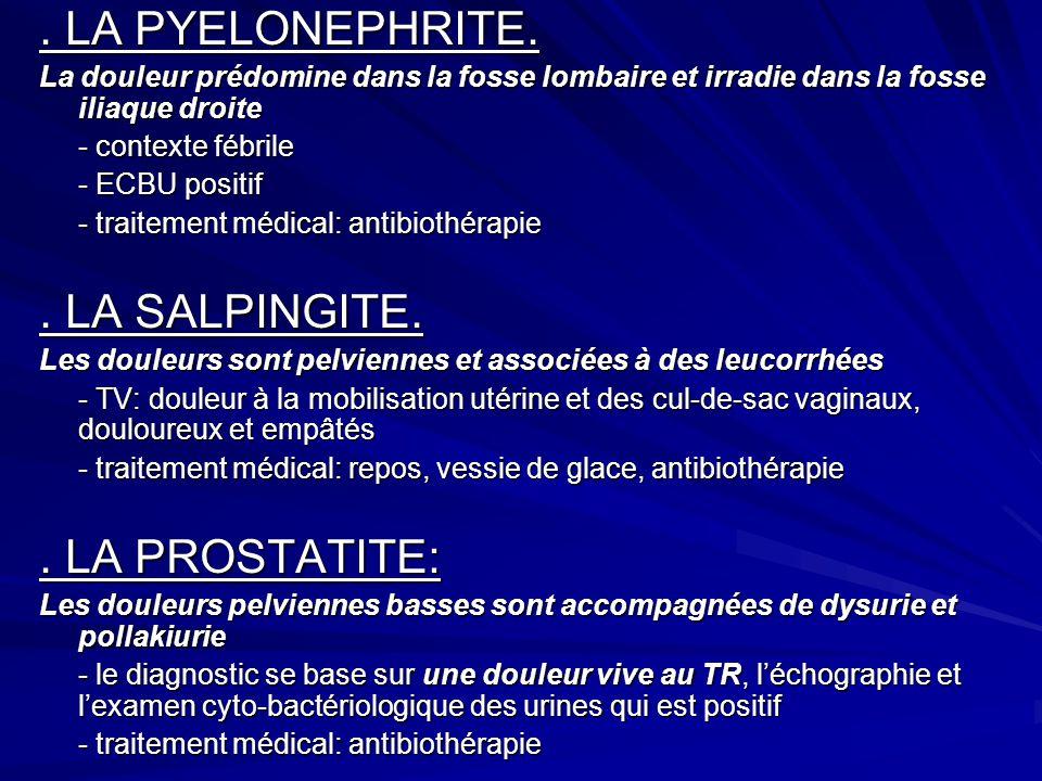 LA PYELONEPHRITE.