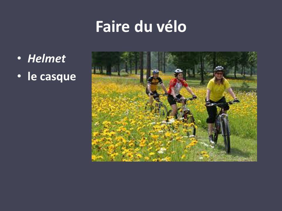 Faire du vélo Helmet le casque