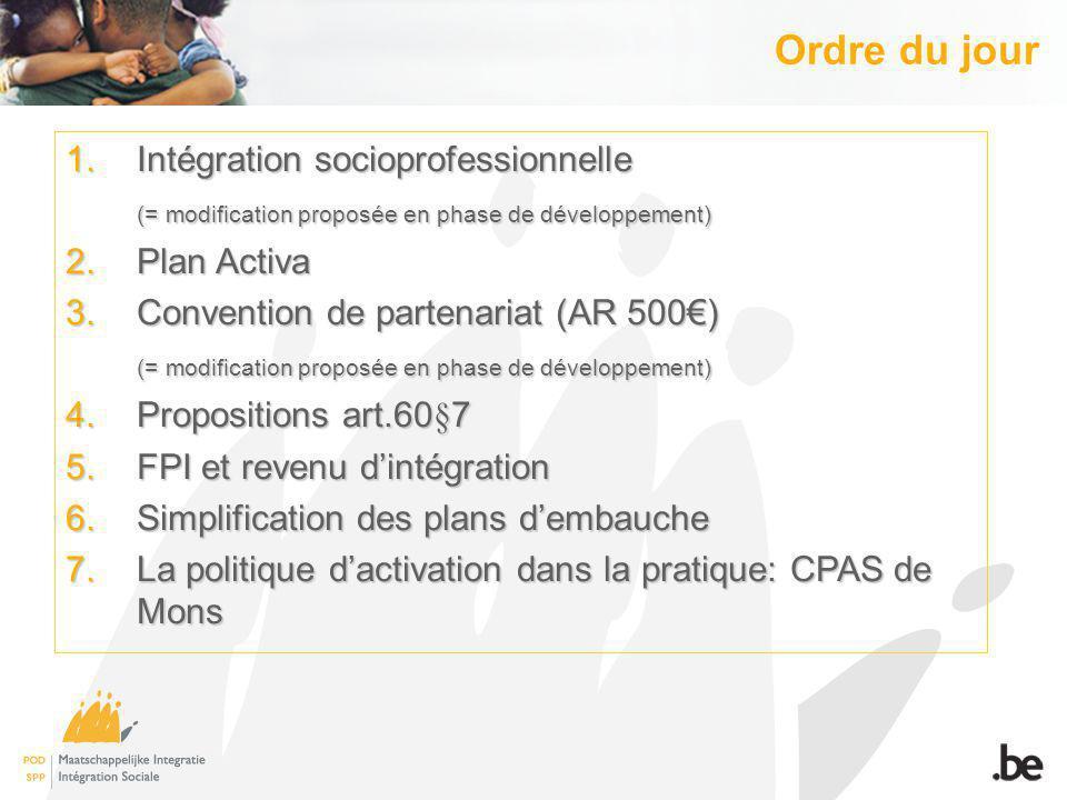5.FPI et Revenu dIntégration 5.1. Précision relative à lallocation de formation 5.2.