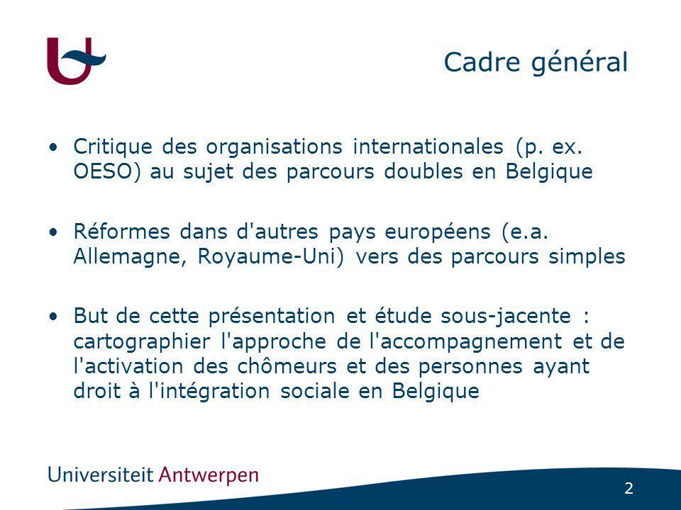 2 Cadre général Critique des organisations internationales (p.
