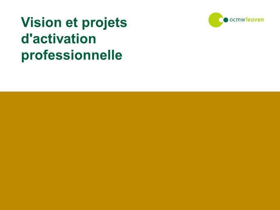 Vision et projets d'activation professionnelle