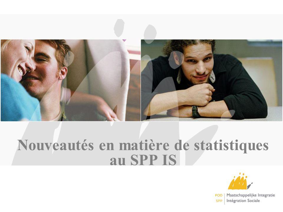 Nouveautés en matière de statistiques au SPP IS