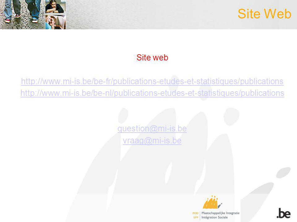 Site Web Site web http://www.mi-is.be/be-fr/publications-etudes-et-statistiques/publications http://www.mi-is.be/be-nl/publications-etudes-et-statisti