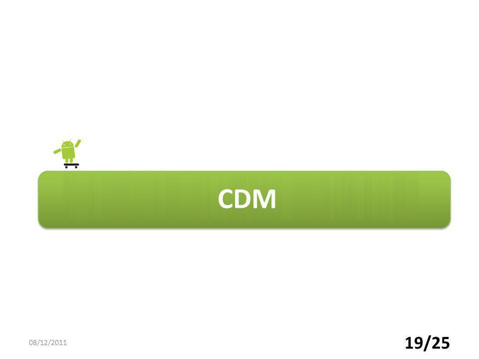 CDM 19/25 08/12/2011