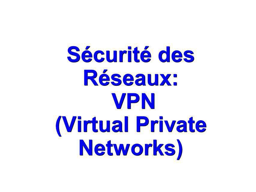 IKE (Internet Key Exchange) IKE (Internet Key Exchange) IKE est un protocole servant à IPSec : - authentification des peers IPSec, – négociation des SA(Security Associations) IKE et IPSec, établissement des clefs pour les algorithmes d encryption utilisés par IPSec.