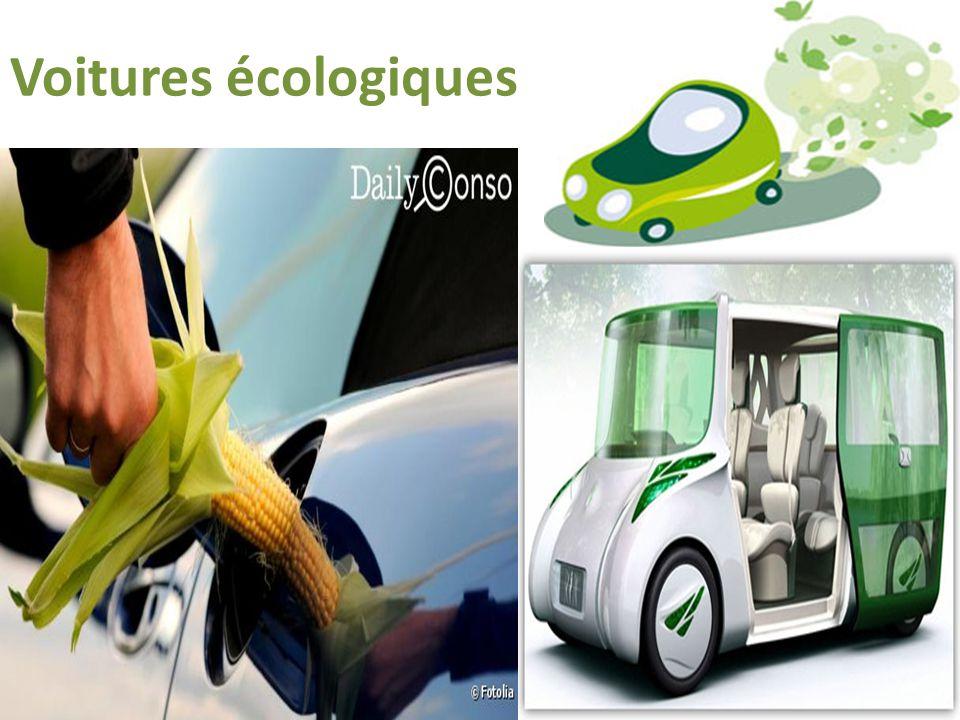 Voitures écologiques