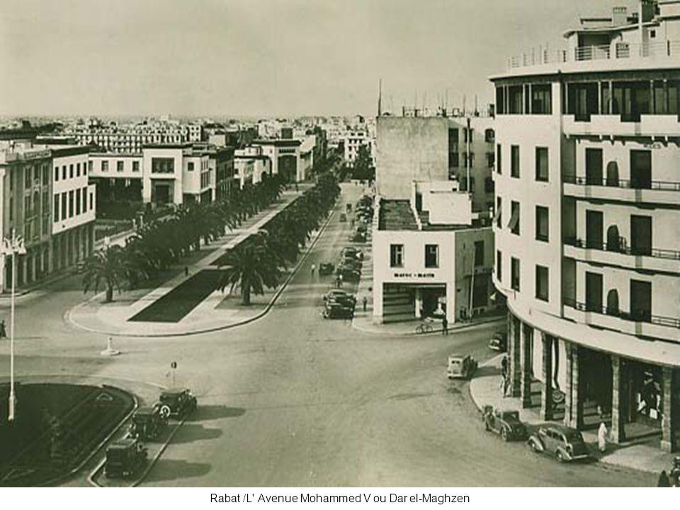 Rabat /L' Avenue Mohammed V ou Dar el-Maghzen