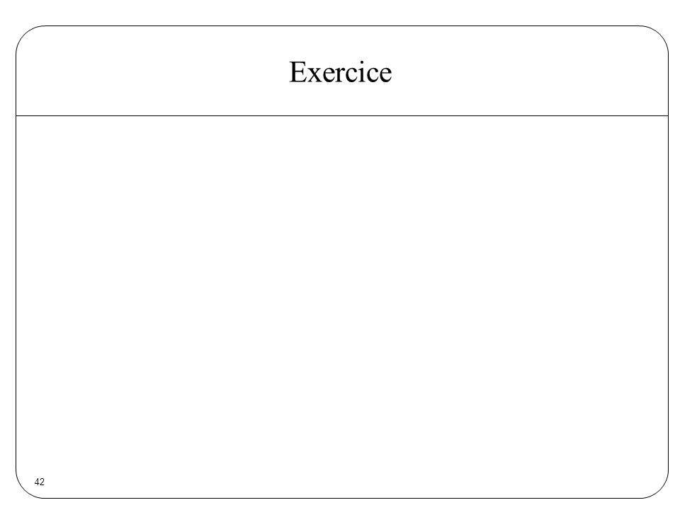 42 Exercice
