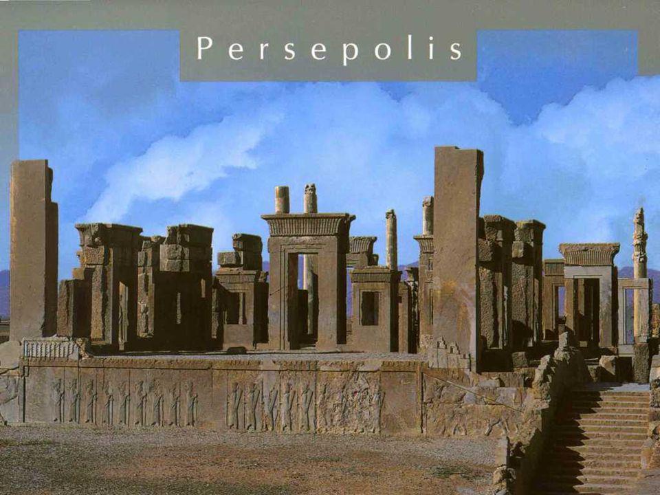 PERSÉPOLIS Persépolis, capitale cérémoniale de l'empire achéménide (ca. 550-330 BC). Persepolis est situé à 70 km au nord de la ville moderne de Shira