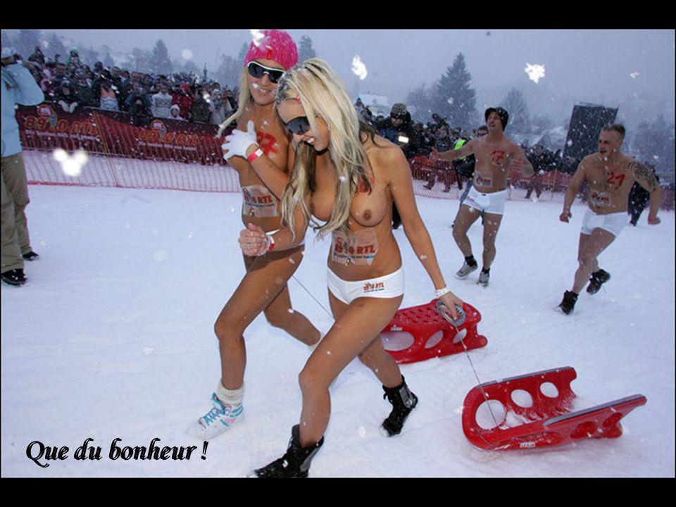 Pour faire du ski de fond… Pour faire du ski de fond…