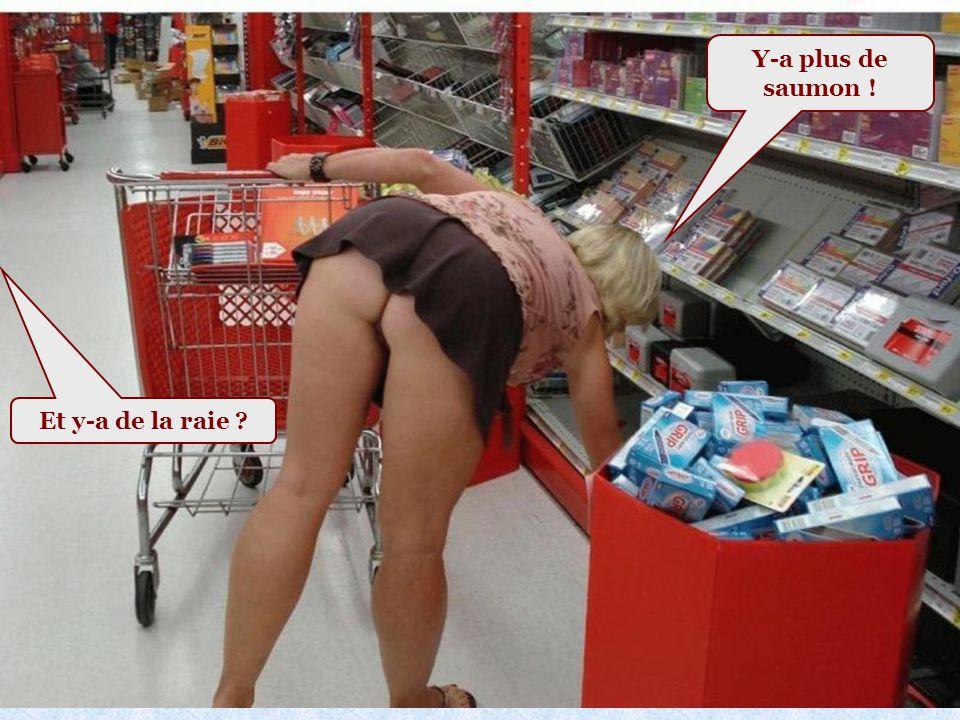 Les courses au supermarché : Voir photo page suivante