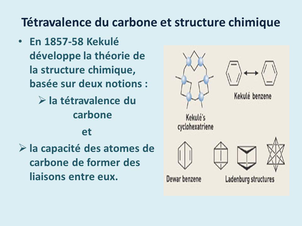 En 1865, il travaille depuis des semaines sur la formule développée du benzène dont il possède la formule brute C 6 H 6.