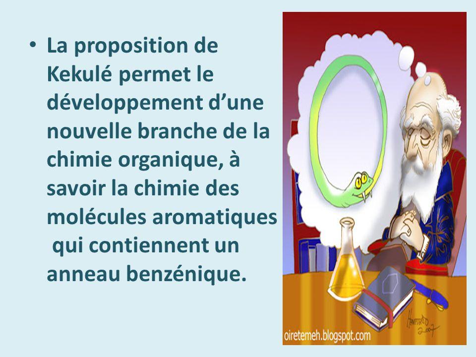 En 1890 la Société chimique allemande fête le 25 e anniversaire de son premier article sur le benzène.