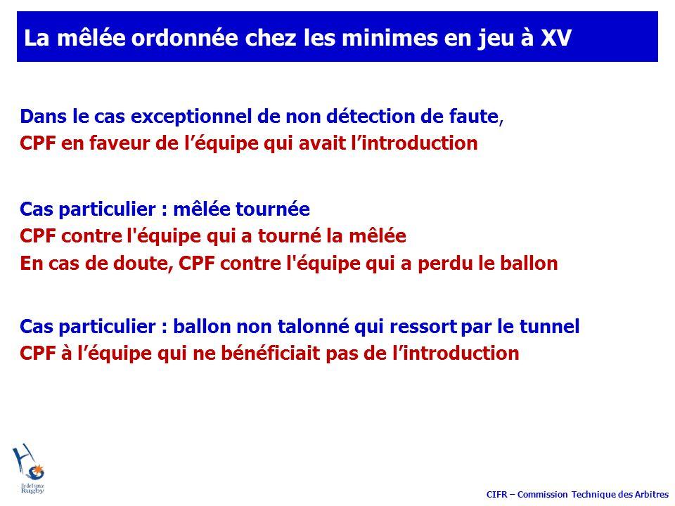 Comité de l île de France Commission technique des Arbitres Les règles fondamentales Touche