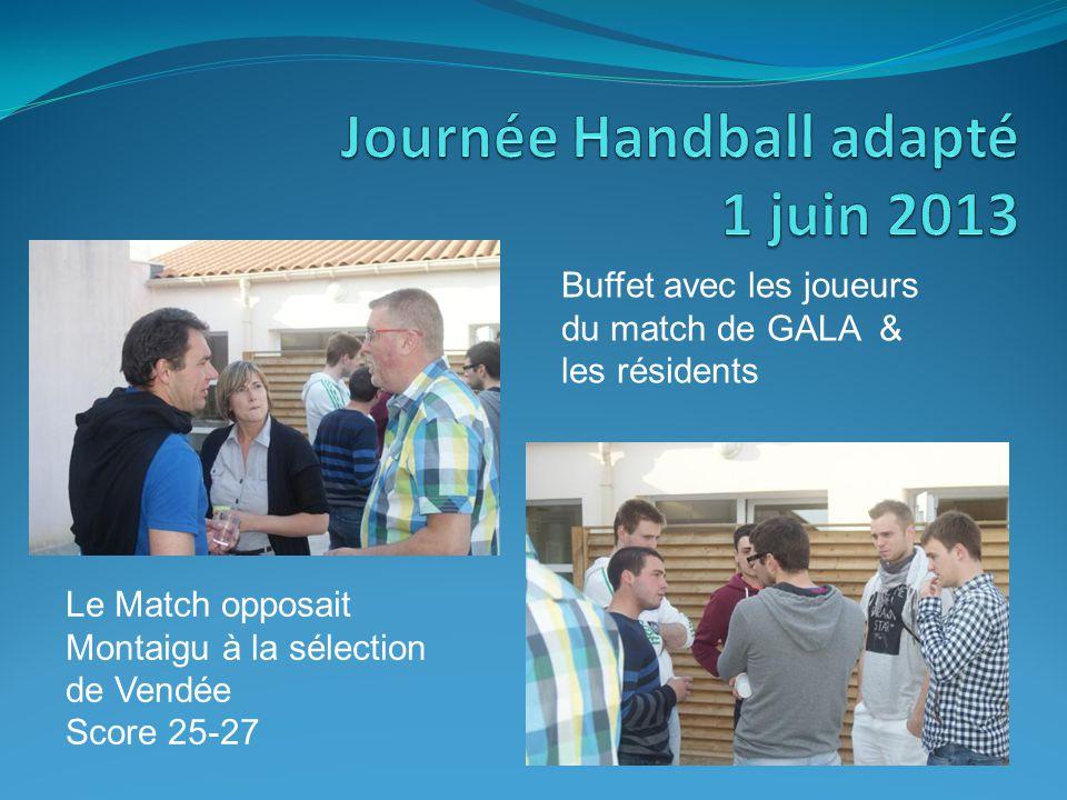 Journée Handball adapté 1 juin 2013.
