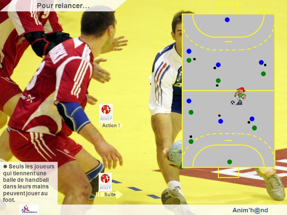 Animh@nd Adulte capables de coordonner les actions de contrôle et de conduite de la balle au pied, plus grand pourra être le nombre de joueurs à tenir une balle dans leurs mains….