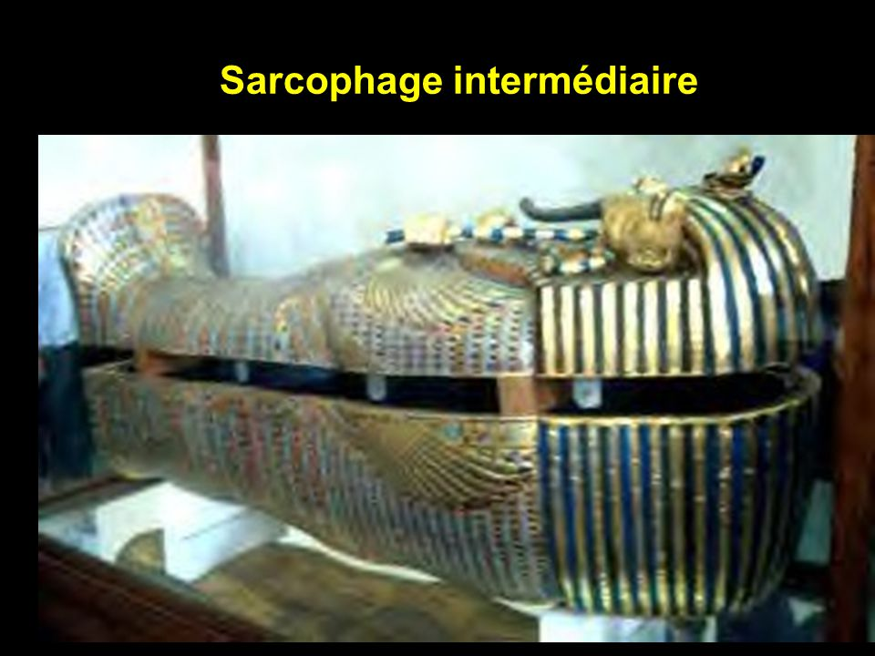 Sarcophage externe de Toutankhamon