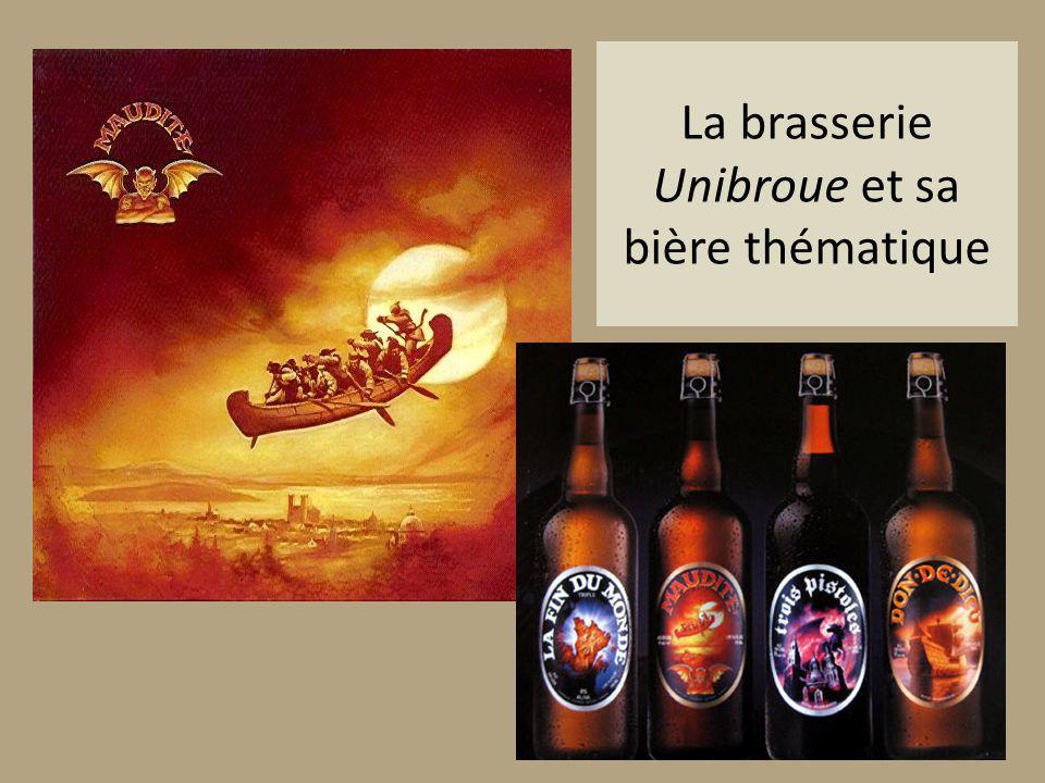 La brasserie Unibroue et sa bière thématique