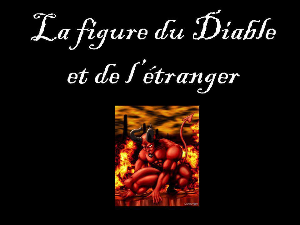 La figure du Diable et de létranger