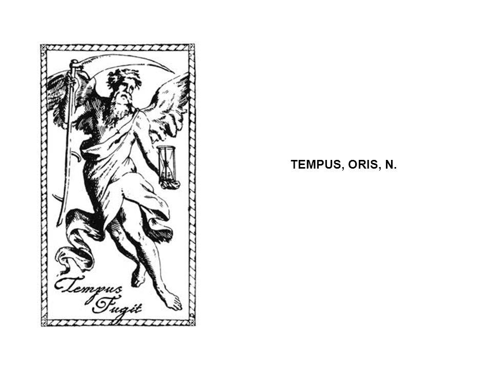 Annus, i, m.Aprilis December Dies, ei, m. et f. februarius Hebdomas, adis, f.