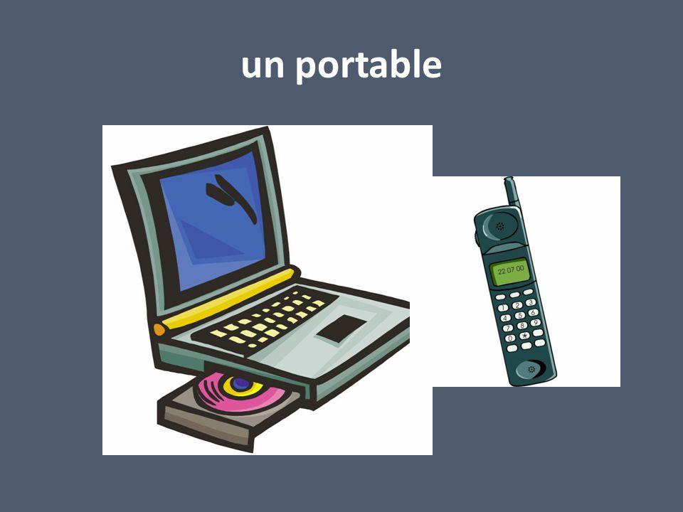 un portable