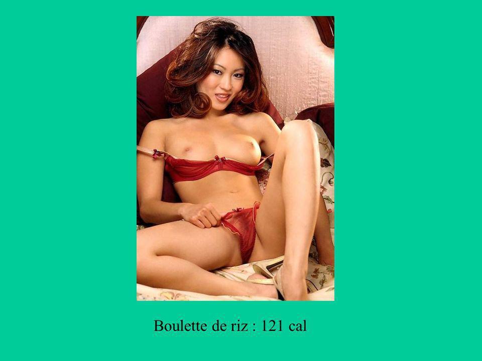 Boulette de riz : 121 cal