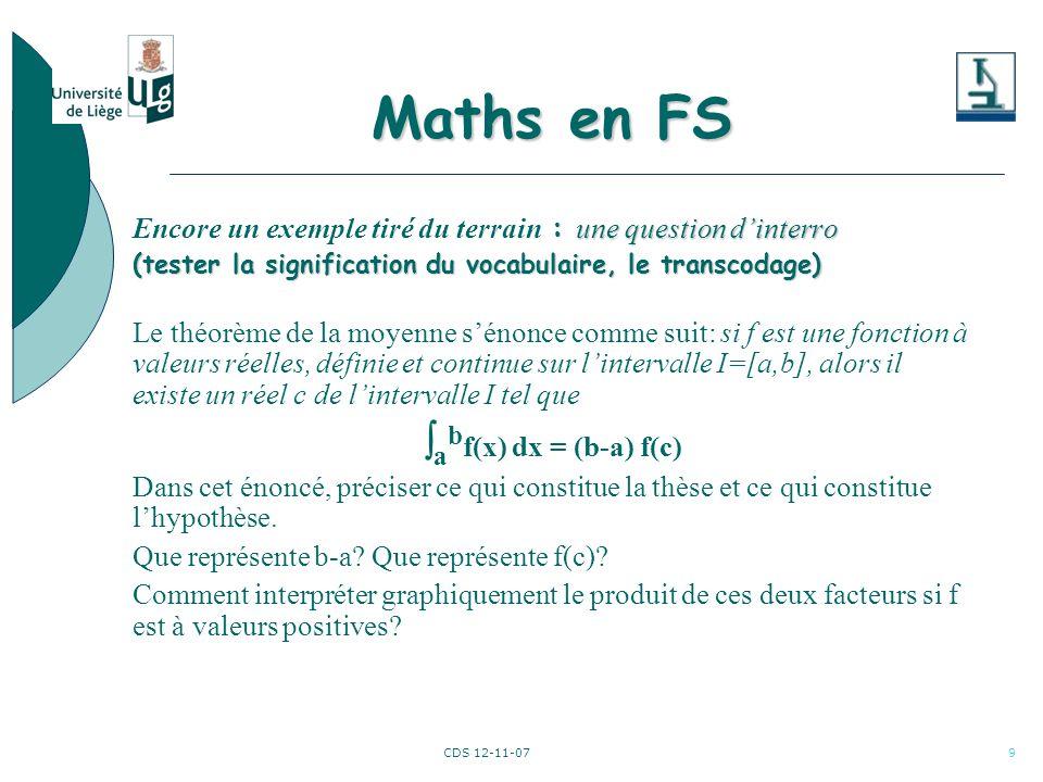 CDS 12-11-0710 Le site web … Maths en FS