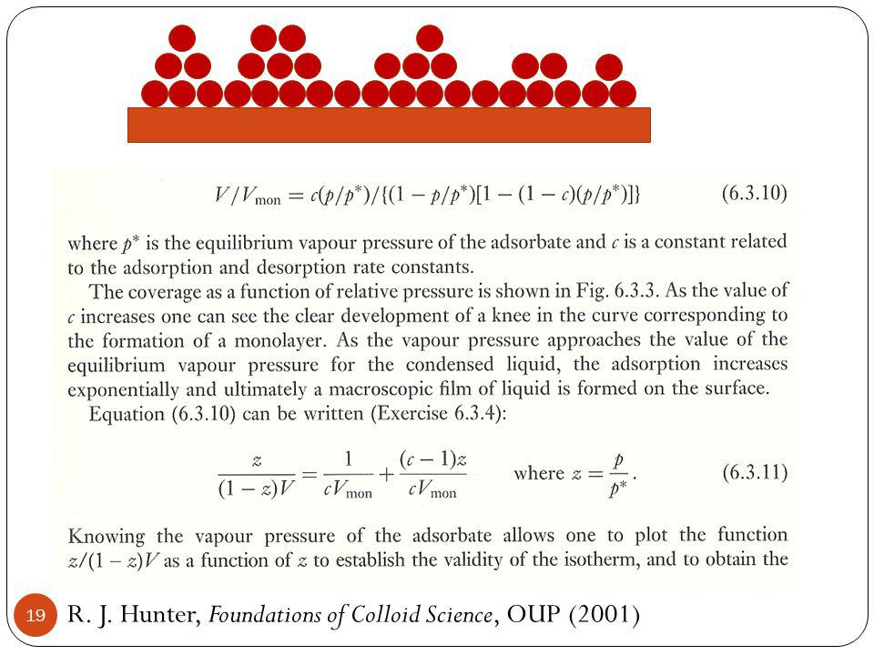 R. J. Hunter, Foundations of Colloid Science, OUP (2001) 19