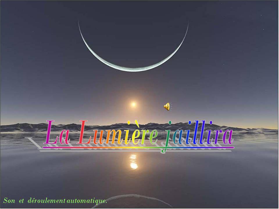 « Par lamour du cœur de « Mon Dieu » Le Christ, »Soleil levant » Vient me visiter.