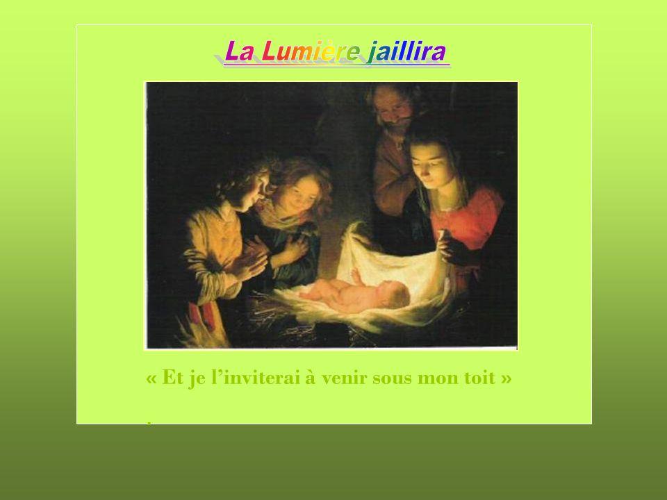 La Lumière éternelle jaillit Quéternel voyageur Mon cœur en vain chercha « Jésus se met à table avec eux, prend le pain et remercie Dieu; puis il rompt le pain et le leur donne.