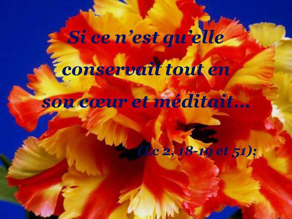 Si ce nest quelle a dit oui à celui qui la choisie comme maman de Jésus… (Lc 1, 38);