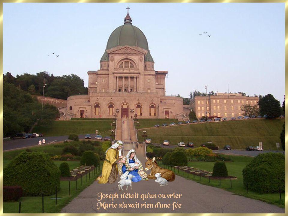 Joseph n était qu un ouvrier Marie n avait rien d une fée