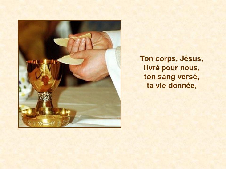 reçois ce que tu es: le Corps du Christ, le Corps du Christ.
