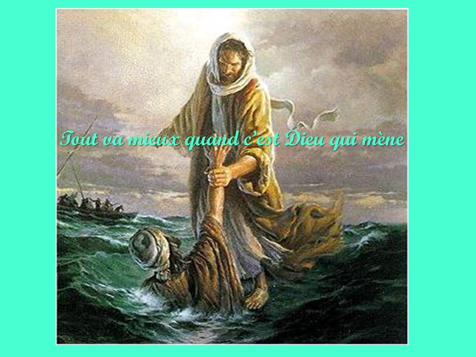 CEST DIEU Il est à ton côté et taccompagne avec amour sur le chemin de ta vie