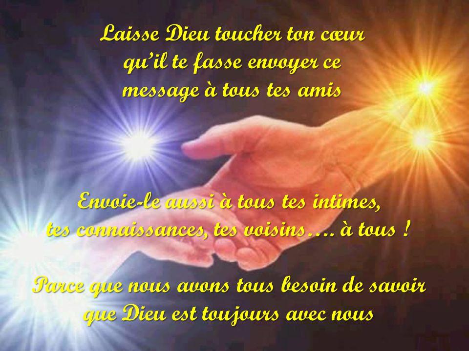 Qui a touché mon cœur il ma fait penser à toi pas parce que tu es un ami (e) mais parce que tu comptes aux yeux de Dieu et aux miens parce que Dieu ta