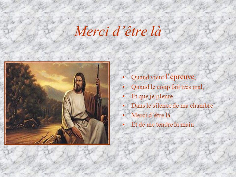 Carême 2005 Aujourdhui…Dieu nous tend la main Seigneur Quand je suis blessé, écrasé Quand je nai plus de courage Pour continuer Merci dêtre là Et de m