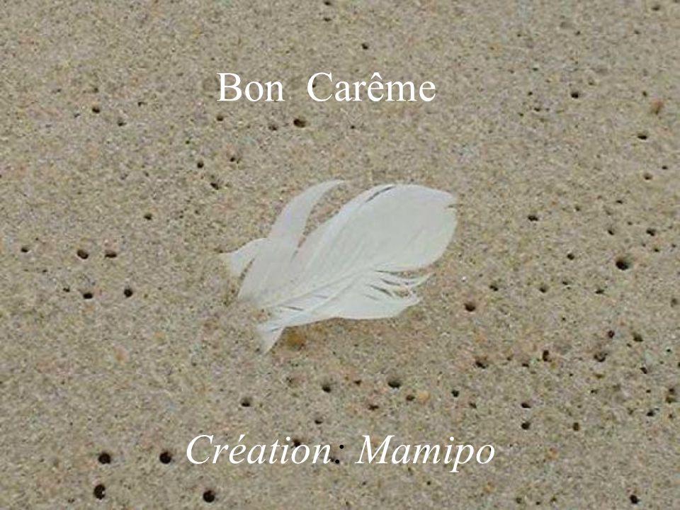 Création: Mamipo Bon Carême