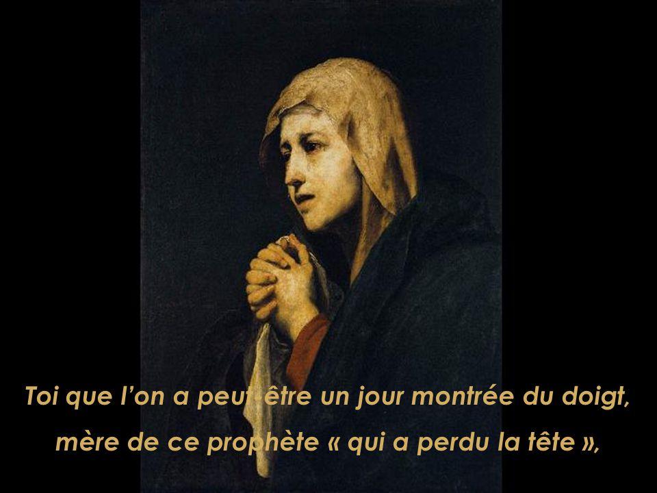 Redis-nous les chemins dabsolue pauvreté dun Dieu déraciné, exclu parmi ses frères. Et apprends-nous, Marie, à vaincre nos méfiances.