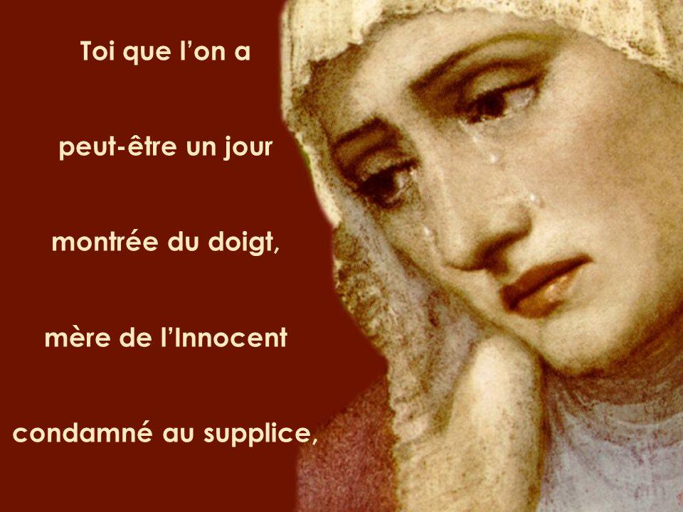 Redis-nous les chemins de ce Dieu compromis sa parole livrée, folie pour notre monde, Et apprends-nous, Marie, laudace de lannonce.