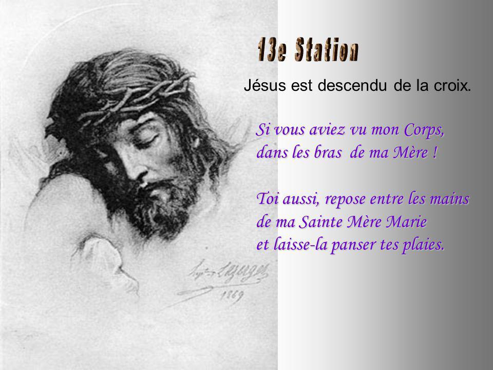 Jésus meurt sur la Croix. Je suis mort, pour mieux vous donner la Vie.