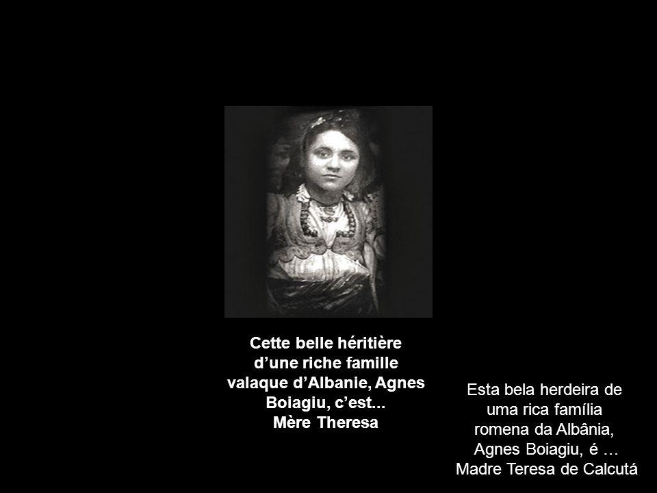 Cette belle héritière dune riche famille valaque dAlbanie, Agnes Boiagiu, cest...
